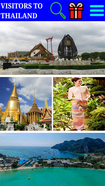 Visitors To Thailand Android Application